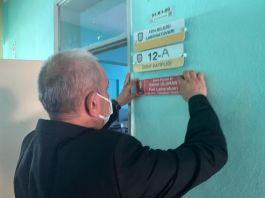 Şehitlerin isimleri Sandıklı'da okulun dersliklerine verildi