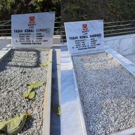 Şehitlerin Mezarlarının Bakım ve onarımları yapıldı