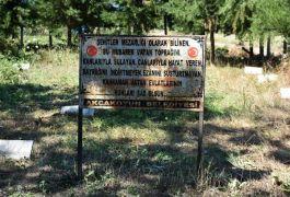 Şehitlik olarak bilinen tarihi mezarlık koruma altına alındı