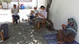 Şehzadeler'de Şehit ve Gazi Ailelerini Ziyaret Ettiler