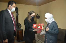 Selendi'de Şehit aileleri ve Gaziler ziyaret edildi