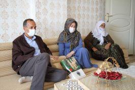 Şemdinli'de Şehit annelerine ziyaret