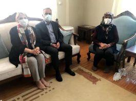 Seymenoğlu'undan Şehit ailelerine ziyaret