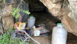 Siirt'te PKK'lıların sığınağı kullanılamaz hale getirildi