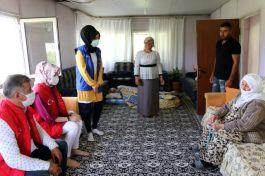 Siirt'te Vefa Grubu Şehit ailesini ziyaret etti