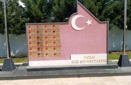 Simav'da Şehitler anıtı yenilendi