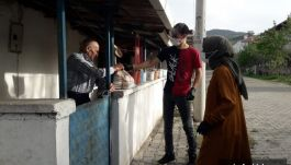 Sındırgı'da Şehit Ailelerine iftar yemekli ziyaret