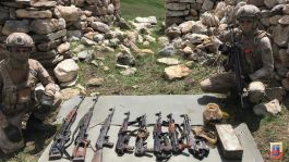 Şırnak ta Mehmetçik Pkk nın silah ve malzeme Zulasını buldu
