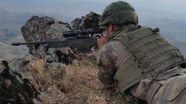 Şırnak'ta 5 işçiyi Şehit eden Terörist öldürüldü