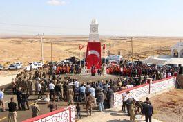 Şırnak'ta şehitler için yapılan anıt açıldı
