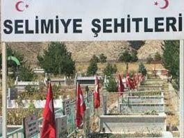 Sivas Zara Selimiye köyü Şehitleri törenle anıldı