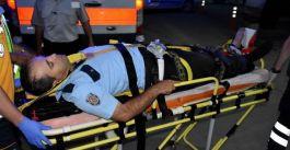 Sivas'ta Arabanın çarptığı polis memuru yaralandı