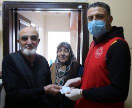 Sivas'ta bir şehit ailesi, Dayanışma Kampanyası'na bin lira bağışladı