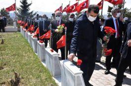Sivas'ta Polis haftasında Şehit polisler anıldı