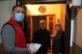 Sivas'ta Şehit Ailesinden Kampanyaya destek