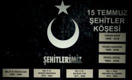 Skandal Şehitlerin İsimlerini anıttan çıkartıp 15 Temmuz şehitlerini eklediler