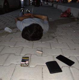 Soylu eylem hazırlığında yakalanan teröristin fotoğrafını paylaştı