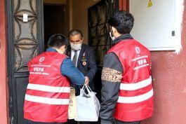 Sultanbeyli'de şehit ailelerinin ve gazilerin evlerine iftar gönderdiler