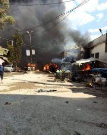 Suriye Afrin'de bombalı saldırı 40 Şehit 35 yaralı