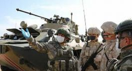 Suriye de  Rusya ile M4 Karayolunda 19.ortak devriye gerçekleştirildi
