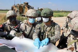 Suriye de  Rusya ile M4 Karayolunda 9.ortak devriye gerçekleştirildi
