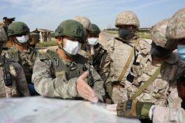 Suriye de  Rusya ile M4 Karayolunda 13.ortak devriye gerçekleştirildi