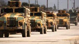 Suriye idlip'te M4 Karayolunda Askeri Konvoyumuza Bombalı Saldırı ağır yaralı Askerlerimiz var