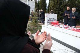 Suriye şehidi şehit oluşunun 3. yılında mezarı başında anıldı