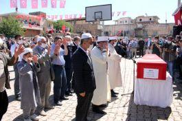 Suriye Şehidimiz Memleketinde törenle defnedildi