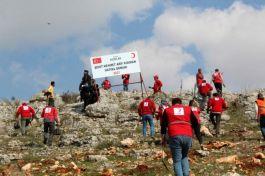 Suriye Şehidinin anısına hatıra ormanı kuruldu