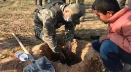 Suriye Şehitleri anısına 525 fidan dikildi