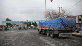 Suriye Sınırında 7 yıldır kapalı olan  Gümrük kapısı açıldı
