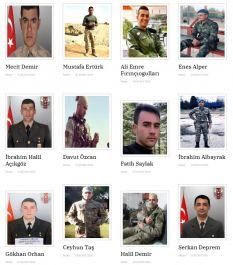 Suriye'de 5 ayda 49 Şehit verdik Şehitlerimizin isimleri ve ayrıntılar bu haberde