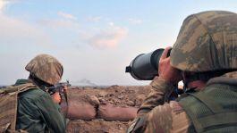 Suriye'de 5 Terörist Öldürüldü
