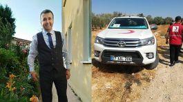 Suriye'de Kızılay ekibine saldırı 1 şehit 1 yaralı
