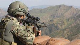 Suriye'de Saldırı hazırlığındaki  5 terörist öldürüldü