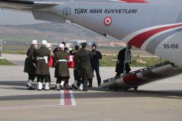 Suriye'de Şehit olan Asker memleketi Bursa'ya gönderildi