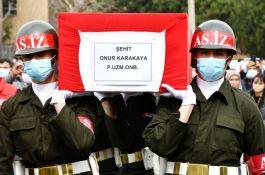 Suriye'de Şehit olan  Asker Manisa'da defnedildi