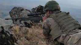 Suriye'de Üç  terörist öldürüldü