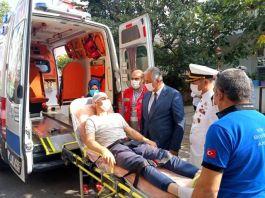 Suriye'de yaralanan Asker taburcu edildi