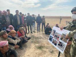 Suriyeliler Eyp ve mayınlara karşı bilgilendirildi