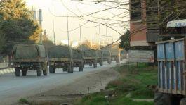 Suriye'ye araç ve komando sevkiyatı