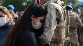 Suriye'ye241 komando Asker dualarla  uğurlandı
