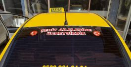 Taksiciden Şehit ailelerine ücretsiz hizmet