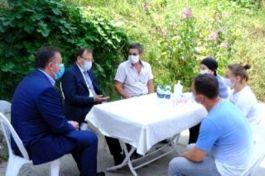 TBMM İnsan Haklarını Komisyonu Başkanı Şehit Ailesini ziyaret etti