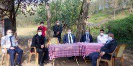 Terme Kaymakamı Şehit Ailelerini ziyaret etti