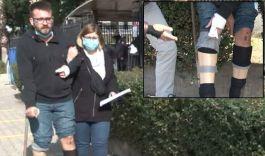 Terör Gazisini Antalya'da darp ettiler(Video)