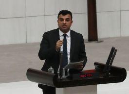 Terörist başı Öcalan'ın yeğeni meclisi karıştırdı