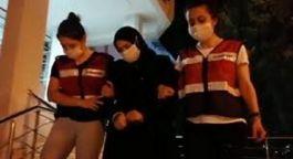 Terörist kadın Bursa'da kaçarken yakalandı(Video)