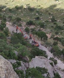Teröristler Cudi de kalekol inşaatına roketatarlı saldırı düzenledi